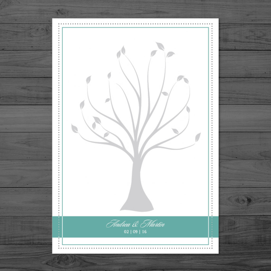 Chandelier Times - Weddingtree / Fingerprintposter