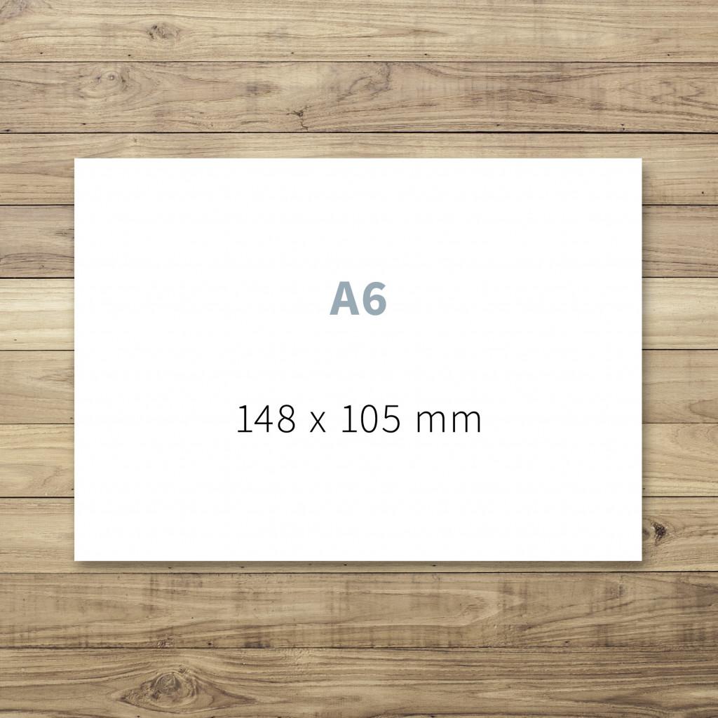Druck von A6-Karten