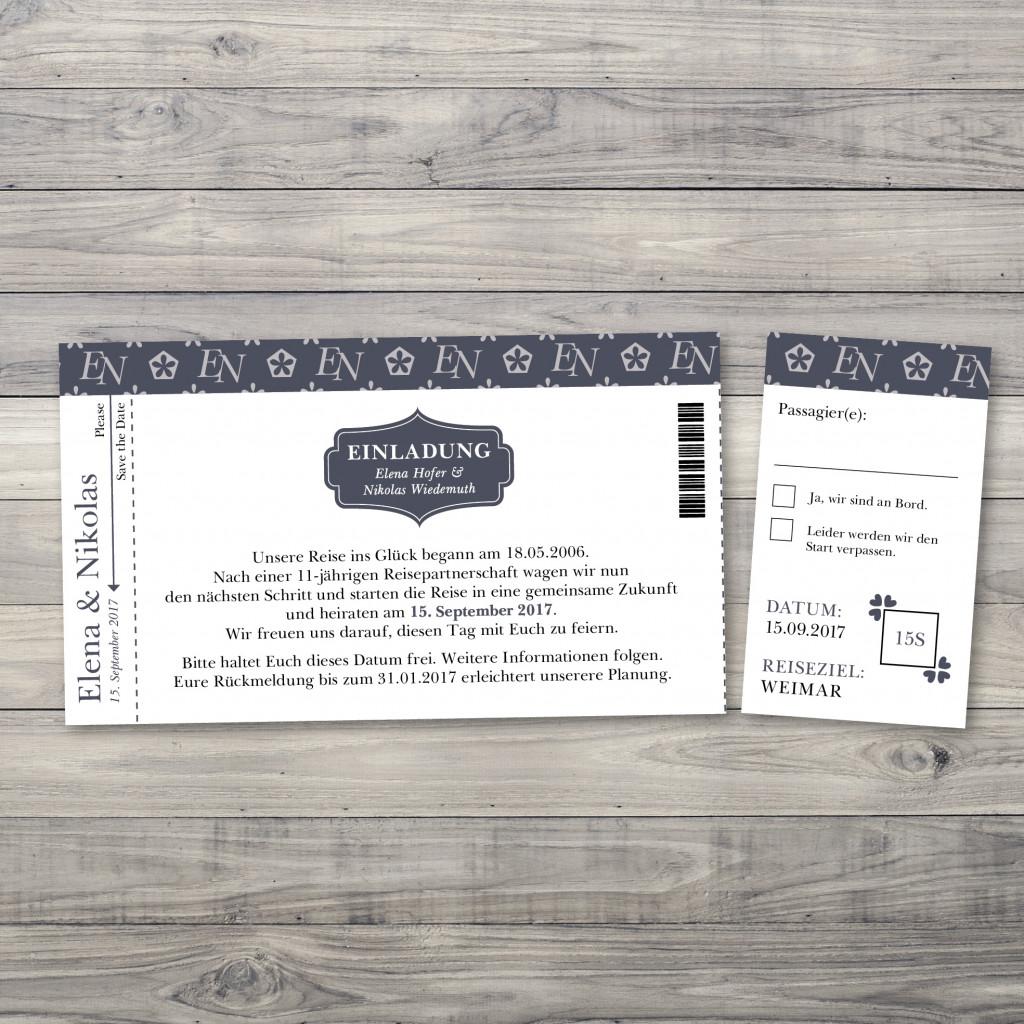 our sign - einladung - ticket/eintrittskarte, Einladung