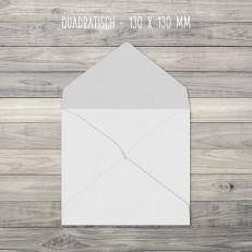 Briefumschläge – Quadratisch – 130 x 130 mm