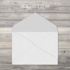 Briefumschläge – B6 – 175 x 125 mm