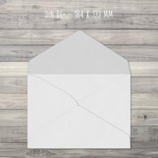 Briefumschläge – B6+ – 184 x 133 mm