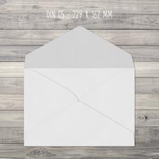 Briefumschläge – C5 – 229 x 162 mm