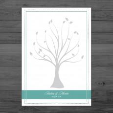 Chandelier Times - Weddingtree / Fingerprintposter