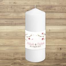 Cherry Blossom - Traukerze