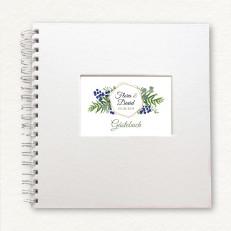 Gästebuch im Greenery & Berries-Design