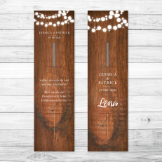 Wooden Lanterns - Wunderkerzenhalter