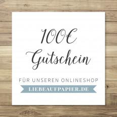 100 € - Gutschein