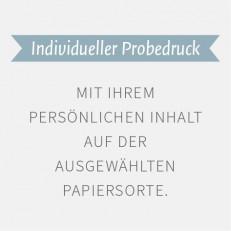 Individueller Probedruck