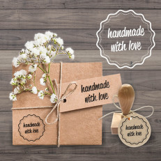 Stempel handmade with Love