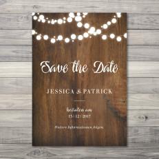Save the Date - Karte