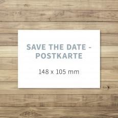 Blanko - Save the Date - Postkarte - 148 x 105 - für Individuelles Design