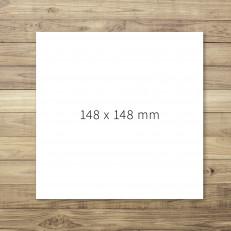 148 x 148 mm - nur Druck u. Verarbeitung