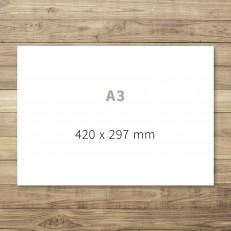 Druck von A3-Karten / Schildern