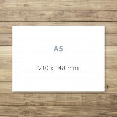 Druck von A5-Karten