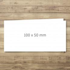Klappkarte 100 x 50mm