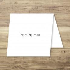 Klappkarte 70 x 70 mm