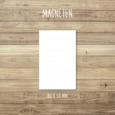 Blanko - Magneten - für Individuelles Design