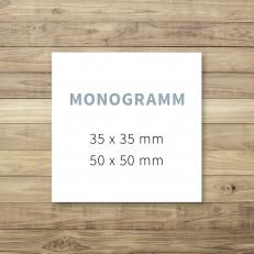 Monogramme drucken lassen