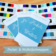 Pocket-Wallet-Farbmappen