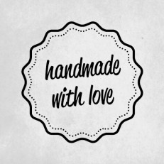 Stempel handmade with love