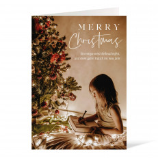 Weihnachtskarte - 105 x 148 Foto I