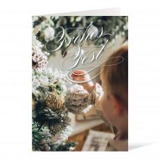 Weihnachtskarte - 105 x 148 Foto II