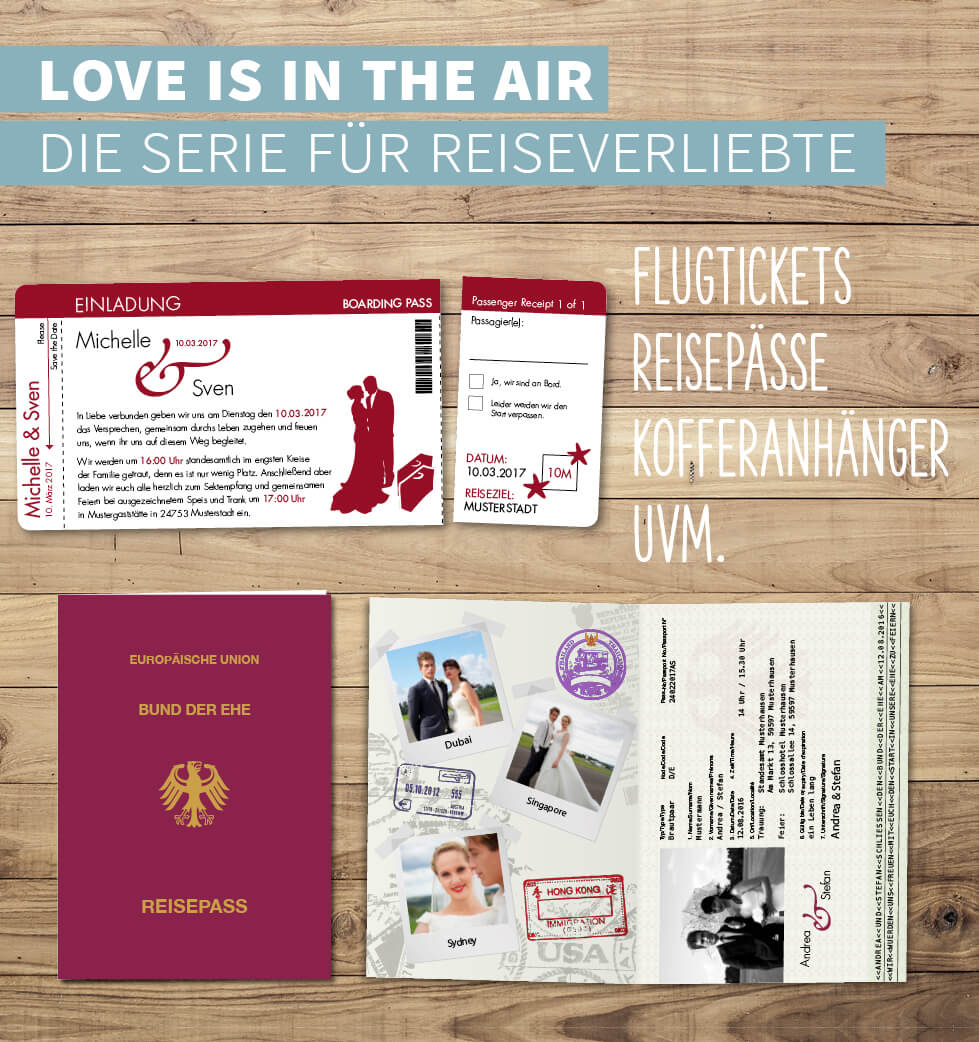 Designserie Love is in the Air