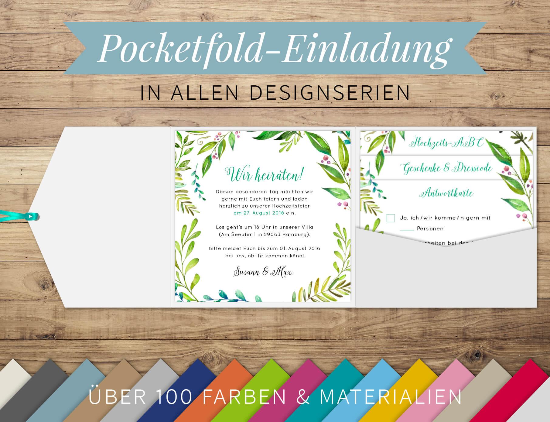 Unsere Pocketsfolds