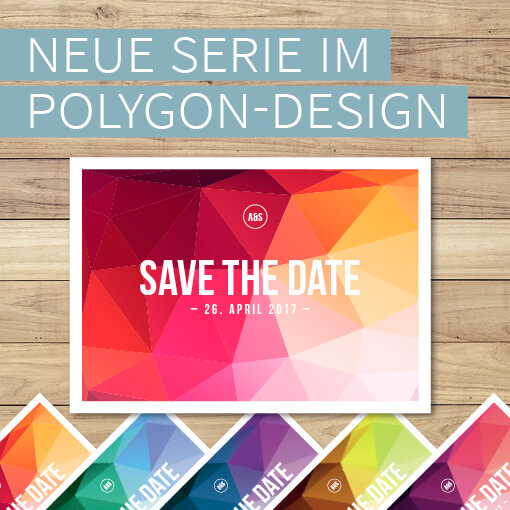 Designserie Polygon Wedding