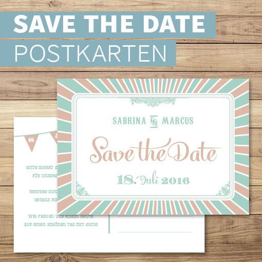 Save the Date-Karten